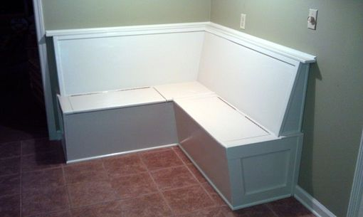 Custom Made Built In Kitchen Bench Banquette Seating With Storage
