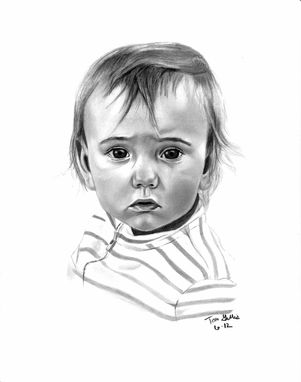 Custom Made Portrait Drawing Of My Son (1 Subject)