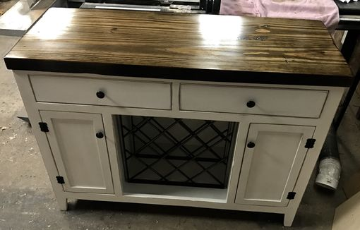 Custom Made Reclaimed Wood Rustic Buffet
