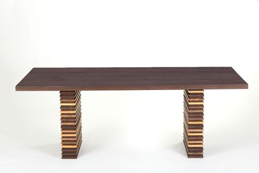 Custom Made Modern Prairie Reclaimed Dining Table