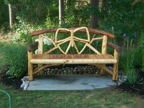 Custom Made Butterfly Bench