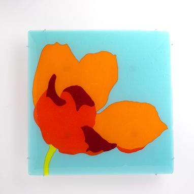 "Custom Made Wall Sculpture - ""A Floral Medley ~ Tulip"""