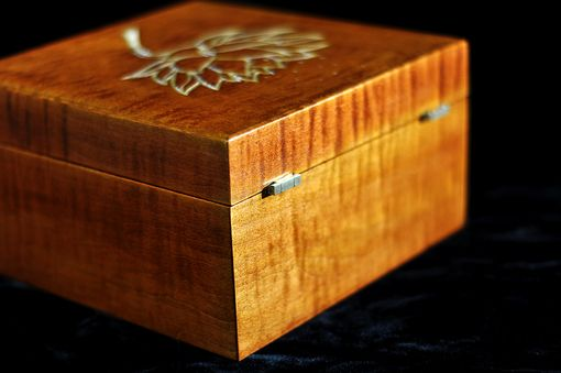 Custom Made Music Box, And Or Jewelry Box With Brass Movements