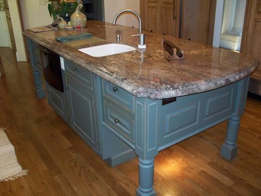 Custom Made Great Overseas Kitchen Islands