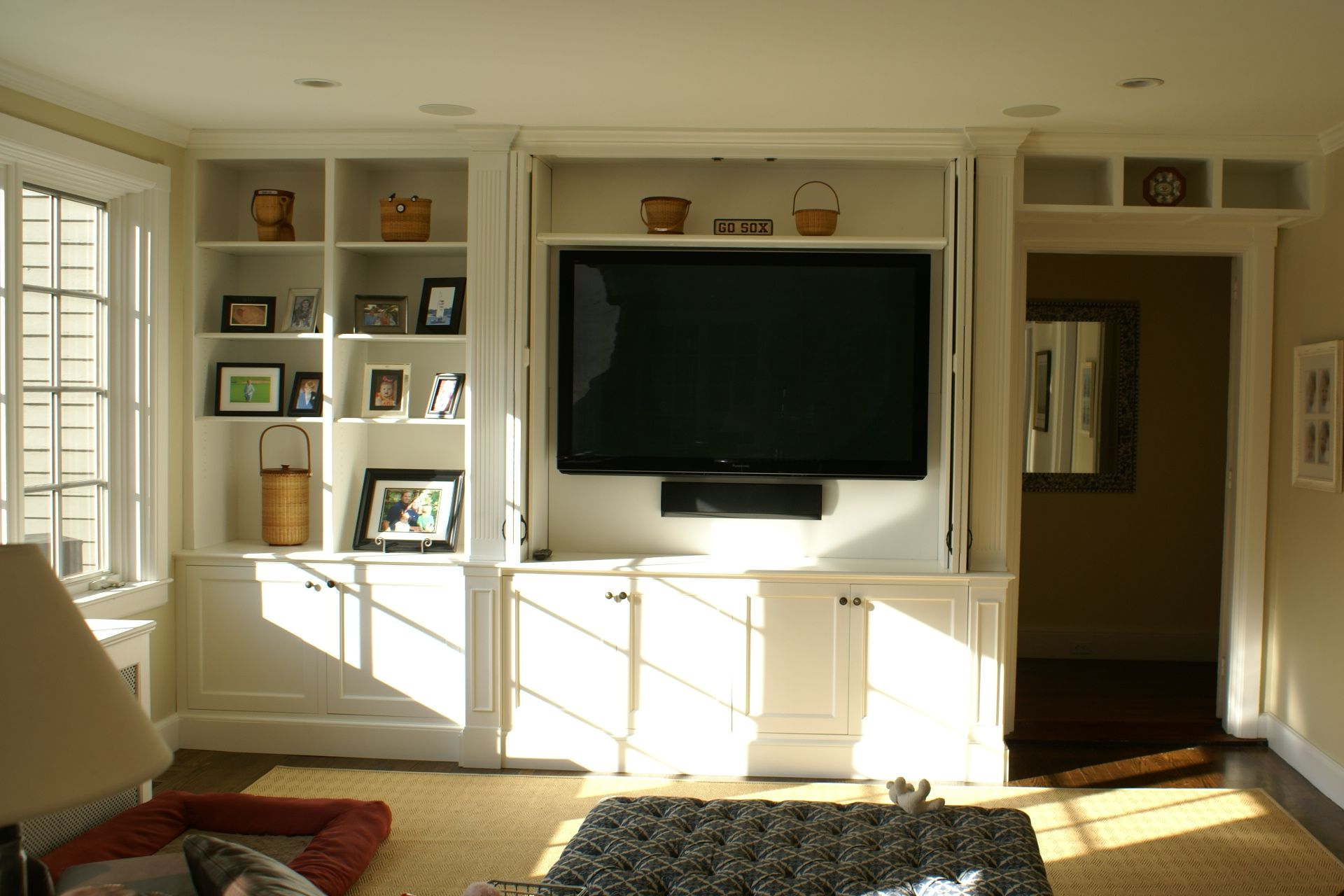 Hand Crafted Built In Wall Unit By Stick And Stone Studio Custommade Com