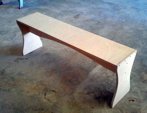 Custom Made Residential Or Retail/Commercial Sitting Bench