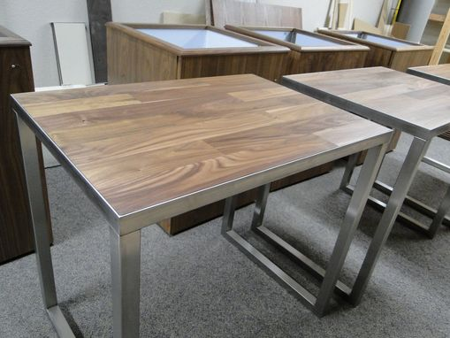 Custom Made Walnut Tables