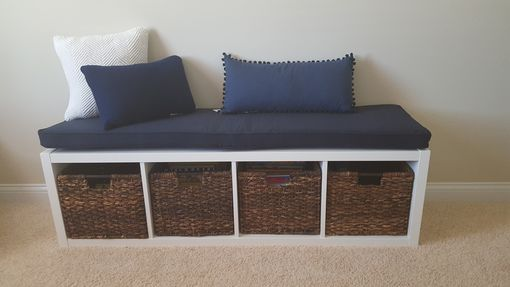 Custom Made Ikea Kallax Cushion - Bench Cushion