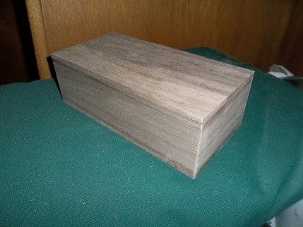 Custom Made Walnut Cufflink Box