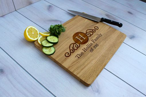 Custom Made Personalized Cutting Board, Engraved Cutting Board, Custom Wedding Gift – Cb-Wo-Hollis Family