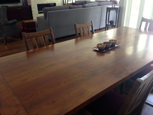 Custom Made California Walnut Dining Table