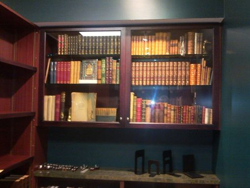 Custom Made Books Cabinets