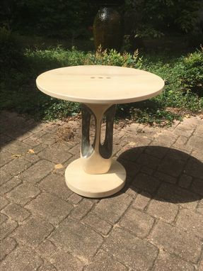 Custom Made Sculpture Holly Accent Table