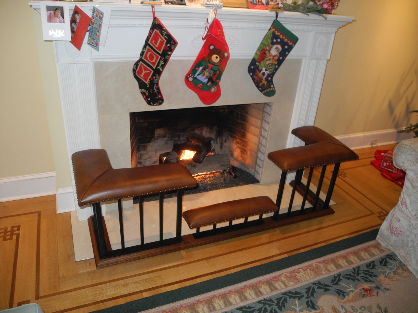 Peter Hovey: Old English Fireplace Benches | New Canaan, CT