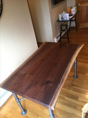 Custom Made Live Edge Piper Table