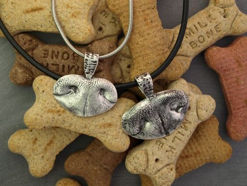 Custom Made Large Nose Print Necklace