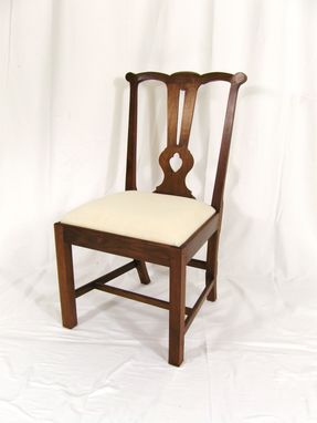 Custom Made For Sale: Chippendale Style Chair