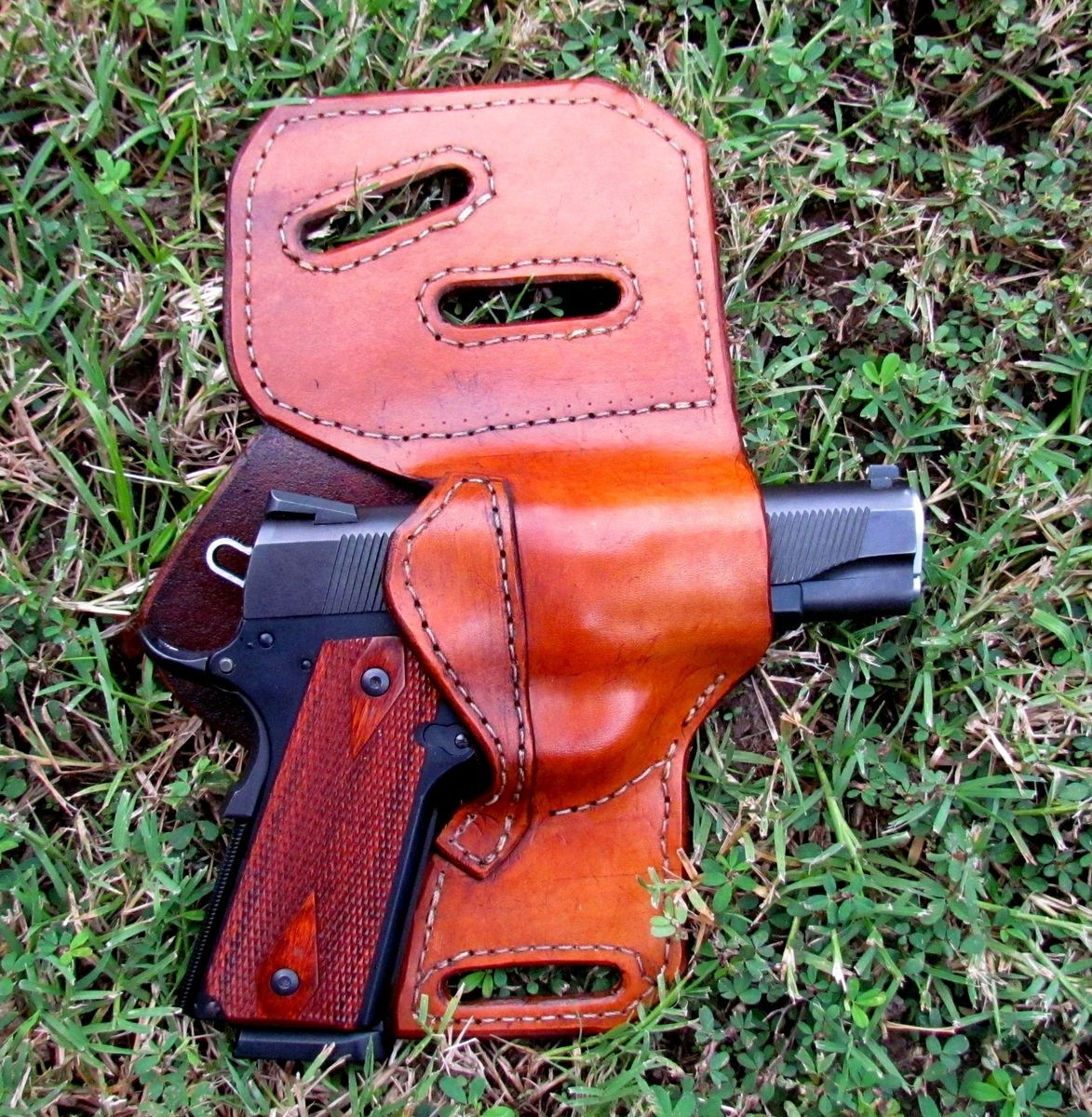 Handmade Leather Gun Holster by Ozark Mountain Leather
