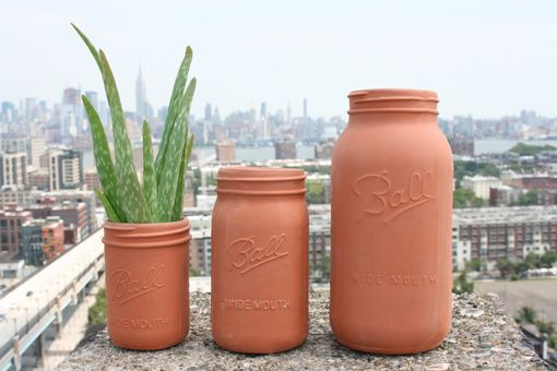 Custom Made Mason Jars | Terracotta