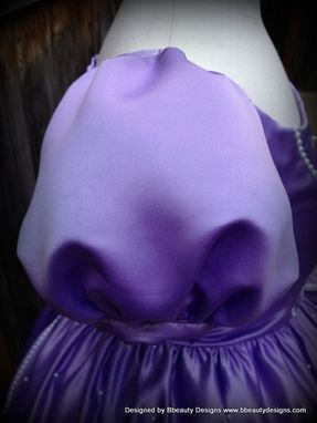 Custom Made Sofia The First Princess Inspired Dress Gown - Adult Size With Pearls