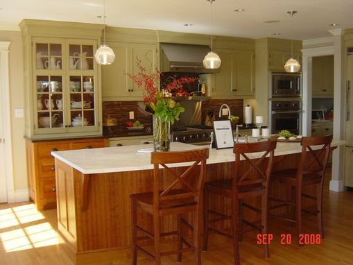 Custom Made Painted & Cherry Kitchen