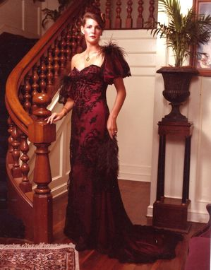 Custom Made Victorian Inspired Evening Gown