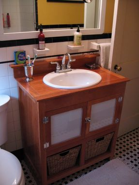 Custom Made Single Bathroom Vanity