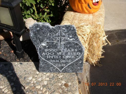 Custom Made Marble Engraved Stone For Church