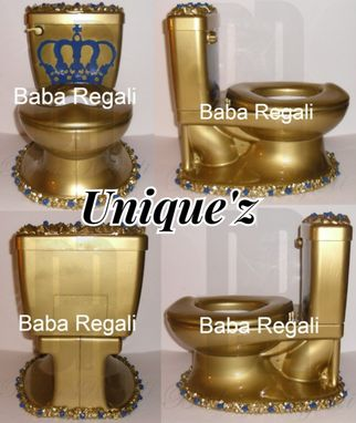 Custom Made Royalty My Size Potty Chair (The Throne)