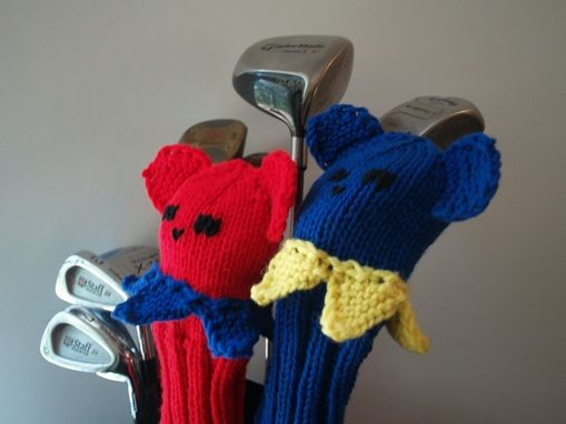 Custom Made Dancing Bears Grateful Dead Golf Club Cover