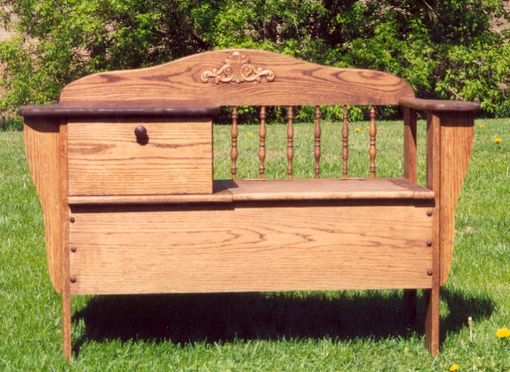 Custom Made Gossip Bench