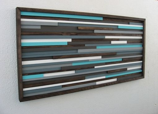 Custom Made Wood Wall Art Sculpture
