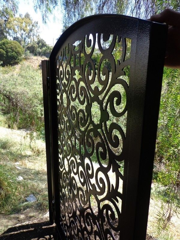 Buy A Hand Crafted Italian Metal Art Gate Pedestrian Walk