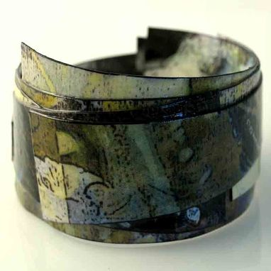 Custom Made Women's Bangle Bracelet In Camouflage