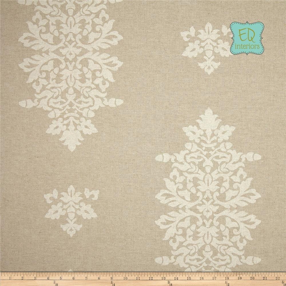 Designer curtain panels - Custom Made Custom Designer Curtain Panels Lacefield Acorn Filigree Damask In Chalk Tan Beige 84