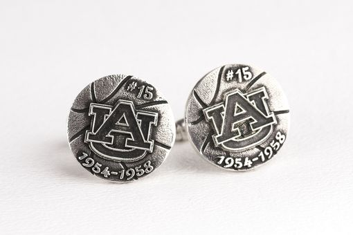 Custom Made Custom Basketball Cufflinks