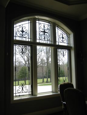 Custom Made Sullivan Wrought Iron Window Treatment