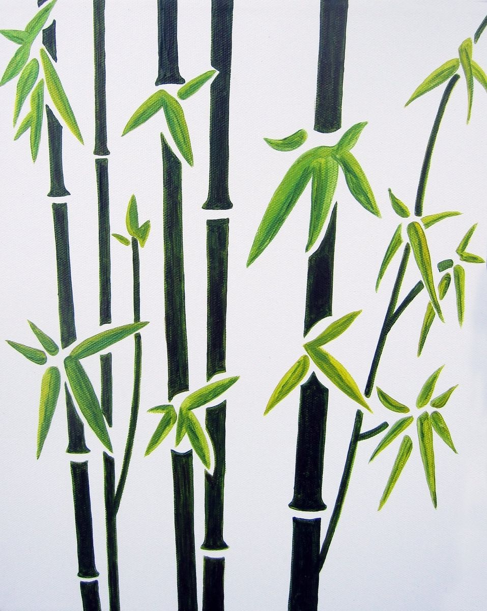 Bamboo Art Design : Handmade bamboo nursery wall art for baby kids room