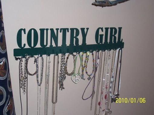 Custom Made Necklace Holders