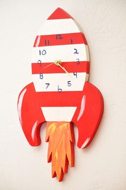 Custom Made Childrens Wall Clock