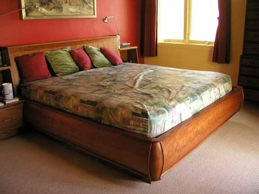 Custom Made Cherry King Bed