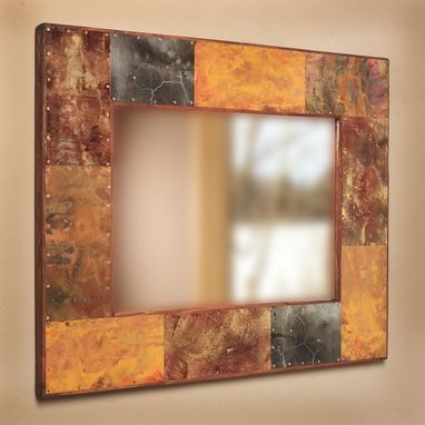 Custom Made Copper And Metal Mirror Frames By Paul Rung Studio Custommade Com