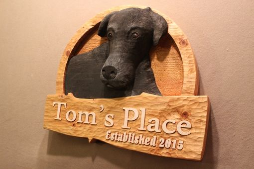 Custom Made Dog Signs | Pet Signs | Cat Signs | Dog Memorials | Pet Memorials | Custom Carved Wood Signs
