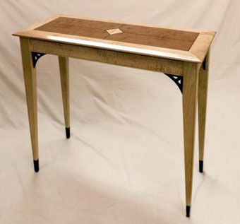 Custom Made Solid Wood Console Table