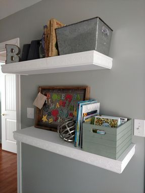 Custom Made Floating Shelving Unit