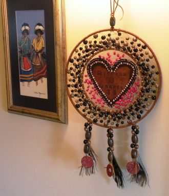 Custom Made 35th Anniversary Dreamcatcher