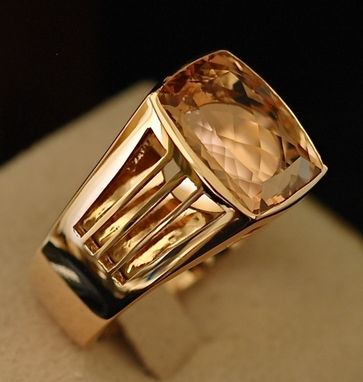Custom Made Morganite Ring