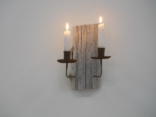 Custom Made Driftwood Sconce