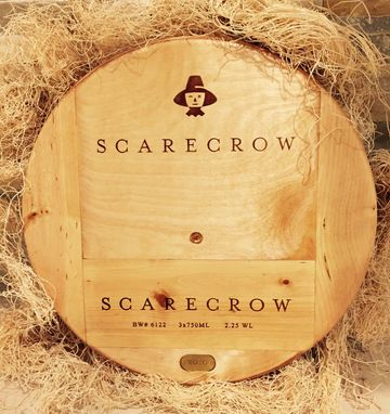 Custom Made Artisan Lazy Susan Original Scarecrow 17