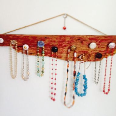 Custom Made Barn Wood Necklace Hanger